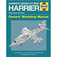 Hawker Siddeley / Bae Harrier Manual by Calvert, Denis, 9780857338617