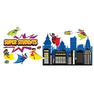Super Power Super Kids Bulletin Board Set by Carson-Dellosa Publishing Company, Inc., 9781483828619