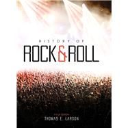 History of Rock and Roll With Rhapsody by Larson, Thomas E., 9781465278623