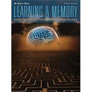 Learning and Memory: Basic Principles, Processes, and Procedures by Terry; W. Scott, 9780205658626