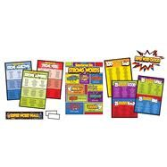 Super Power Super Word Choices Bulletin Board Set by Carson-Dellosa Publishing Company, Inc., 9781483828626