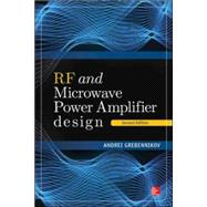 RF and Microwave Power Amplifier Design, Second Edition by Grebennikov, Andrei, 9780071828628