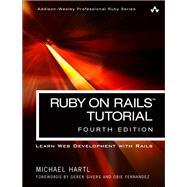 Ruby on Rails Tutorial Learn Web Development with Rails by Hartl, Michael, 9780134598628