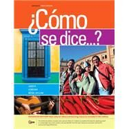 ¿Como se dice...?, Enhanced by Jarvis, Ana; Lebredo, Raquel; Mena-Ayllon, Francisco, 9781285738628