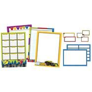 Super Power Classroom Organizers Bulletin Board Set by Carson-Dellosa Publishing Company, Inc., 9781483828633