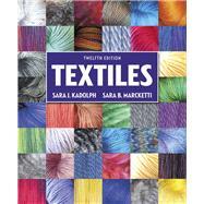 Textiles by Kadolph, Sara J; Marcketti, Sara B, 9780134128634