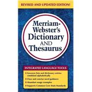 Merriam-webster's Dictionary and Thesaurus by Merriam-Webster, 9780877798637