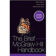 Brief McGraw-Hill Handbook MLA 2016 UPDATE by Maimon, Elaine; Peritz, Janice; Blake Yancey, Kathleen, 9781259988639