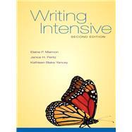 WRIT INTNSV MLA 2016 UPD by Maimon, Elaine;Peritz , Janice;Blake Yancey , Kathleen, 9781259988646