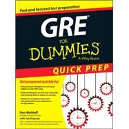 GRE for Dummies by Woldoff, Ron; Kraynak, Joe (CON), 9781119068648