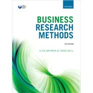 Business Research Methods by Bryman, Alan; Bell, Emma, 9780199668649