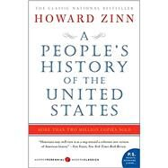 A People's History of the United States: 1492 - Present by Zinn, Howard, 9780060838652