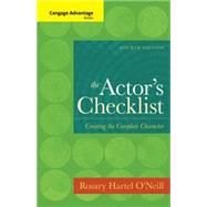 Cengage Advantage Books: The Actor's Checklist by O'Neill, 9781133308652