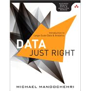 Data Just Right Introduction to Large-Scale Data & Analytics by Manoochehri, Michael, 9780321898654