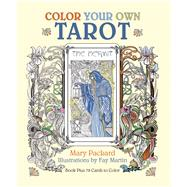 Color Your Own Tarot by Packard, Mary; Martin, Fay, 9781626868656