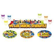 Super Power Heroic Students Mini Bulletin Board Set by Carson-Dellosa Publishing Company, Inc., 9781483828657