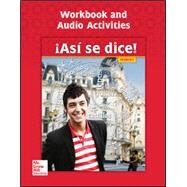Asi se dice! Level 2, Workbook and Audio Activities by Conrad Schmitt, 9780076668663