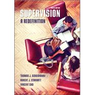 Supervision: A Redefinition by Sergiovanni, Thomas; Starratt, Robert; Cho, Vincent, 9780073378664