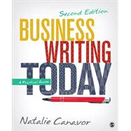 Business Writing Today by Canavor, Natalie, 9781483358666