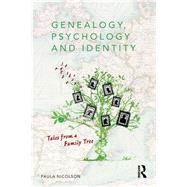 Genealogy, Psychology and Identity: Tales from a family tree by Nicolson; Paula, 9781138998667