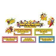 Super Power Decoding Words Mini Bulletin Board Set by Carson-Dellosa Publishing Company, Inc., 9781483828671