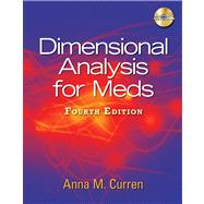 Dimensional Analysis for Meds by Curren, Anna M., 9781435438675