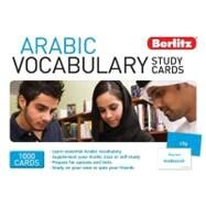 Berlitz Arabic Vocabulary Study Cards by Berlitz, 9789812688675
