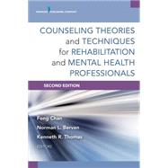 Counseling Theories and Techniques for Rehabilitation Health Professionals by Chan, Fong, 9780826198679