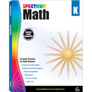 Spectrum Math, Grade K by Spectrum, 9781483808680