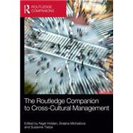 The Routledge Companion to Cross-Cultural Management by Holden; Nigel, 9780415858687