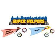 Super Power Super Helpers Mini Bulletin Board Set by Carson-Dellosa Publishing Company, Inc., 9781483828688