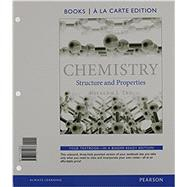 Chemistry Structure and Properties, Books a la Carte Edition &  Modified MasteringChemistry with Pearson eText -- ValuePack Access Card -- for Chemistry: Structure and Properties Package by Tro, Nivaldo J., 9780133908695