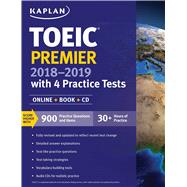 Toeic Premier with 4 Practice Tests 2018-2019 by Kaplan, 9781506208695