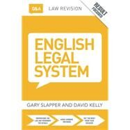 Q&A English Legal System by Slapper; Gary, 9781138778696