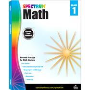Spectrum Math, Grade 1 by Spectrum, 9781483808697