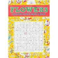 Flowers Coloring Book & Word Search by Thunder Bay Press, Editors of, 9781626868700