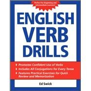 English Verb Drills by Swick, Ed, 9780071608701