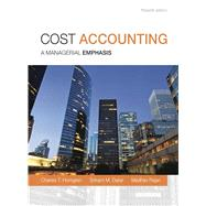 Cost Accounting by Horngren, Charles T.; Datar, Srikant M.; Rajan, Madhav V., 9780133428704