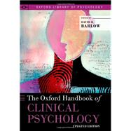 The Oxford Handbook of Clinical Psychology Updated Edition by Barlow, David H., 9780199328710