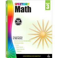 Spectrum Math, Grade 3 by Spectrum, 9781483808710