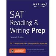 Kaplan SAT Reading & Writing Prep by Kaplan, Inc., 9781506228716