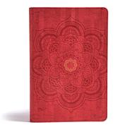 CSB Essential Teen Study Bible, Red Flower Cork LeatherTouch by CSB Bibles by Holman, 9781433648717