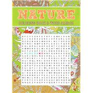 Nature Coloring Book & Word Search by Thunder Bay Press, Editors of, 9781626868717
