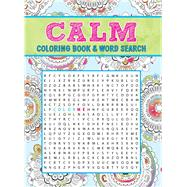 Calm Coloring Book & Word Search by Thunder Bay Press, Editors of, 9781626868724