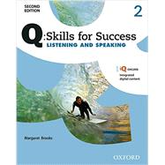 Q: Skills of Success 2E Listening and Speaking Level 2 Student Book by Brooks, Margaret, 9780194818728