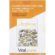 VitalSource Edition for Prebles' Artforms -- Access Card by Preble, Duane, Emeritus; Frank, Patrick L.; Preble, Sarah, 9780134228730
