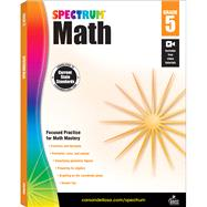 Spectrum Math, Grade 5 by Spectrum, 9781483808734