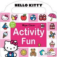 Hello Kitty: Wipe Clean Activity Fun by Priddy, Roger, 9780312518738