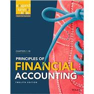 Principles of Financial Accounting by Weygandt, Jerry J.; Kieso, Donald E.; Kimmel, Paul D., 9781118978740