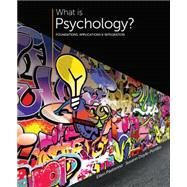 What is Psychology? Foundations, Applications, and Integration by Pastorino, Ellen E.; Doyle-Portillo, Susann M, 9781305088740